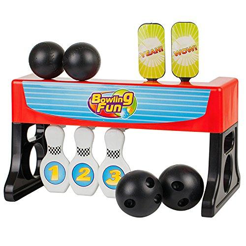Générique Jeu de Bowling Quilles 2 en 1 - avec tir de balles sur Cible