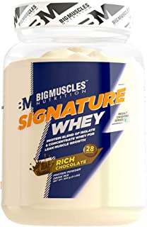 Bigmuscles Nutrition Signature Whey Protein 2lbs (Rich Chocolate)