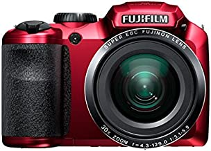 Fujifilm FinePix S4800 16MP Digital Camera with 3-Inch LCD (Red)