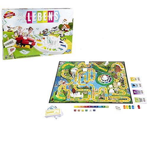 Hasbro Das Spiel des Lebens, Klassiker unter den Familienspielen
