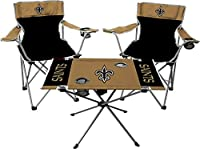 Rawlings NFL New Orleans Saints Tailgate Kit, Team Color, One Size