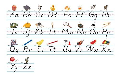 NORTH STAR TEACHER RESOURCE Modern Manuscript Alphabet Lines Bulletin Board Set