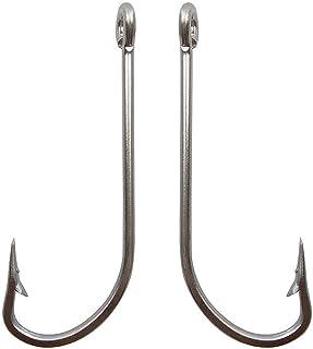 Lot 100pcs Fishing Hooks O/'shaughnessy Hook High Carbon Steel Jig hook Paxipa