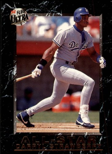 1992 Fleer Ultra All Stars Baseball Card #18 Darryl Strawberry