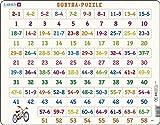 Larsen AR7 Rompecabezas Matemáticas Resta de 1-65, Puzzle de Marco con 58 Piezas