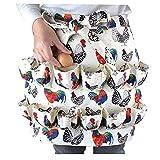 KDOI Delantal para recoger huevos, adecuado para pollo, pato, huevos de ganso,...
