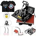 "Wookrays 12"" x 15"" Multifunction Sublimation Heat Press Transfer Machine"