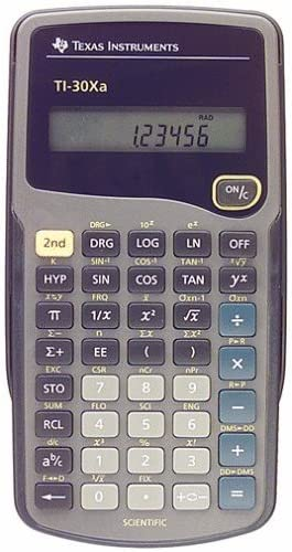 Texas Instruments Ti-30Xa Scientific Calculator C High material Cheap sale Lcd 10-Digit