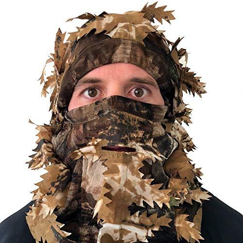 Arcturus Camo 3D Leaf Ghillie Camouflage Mask. Leafy,...