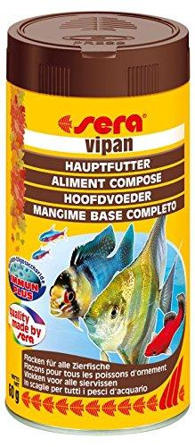 Sera Vipan 1000ml 210g comida en copos para peces tropicales