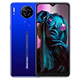 Teléfono Móvil Libre 4G, Blackview A80S Smartphone, Android 10 Octa-Core, 6.21' HD+ IPS Water-Drop Screen Teléfono Libre, 4GB+ 64GB, 4200mAh, 13MP+5MP, Dual SIM/GPS/Face ID