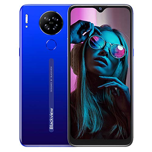 Teléfono Móvil Libres 4G, Blackview A80S Smartphone Libre,4GB+ 64GB, Android 10 Octa-Core, 6.21  HD+ IPS Water-Drop Screen Smartphone Barato, 4200mAh, 13MP+5MP, Dual SIM GPS Face ID