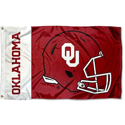 College Flags & Banners Co. Oklahoma Sooners Football Helmet Flag
