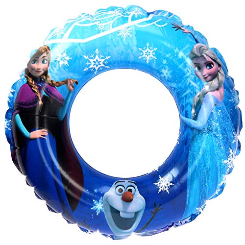 Sambr Flotador Hinchable para niños de 3 a 6 años para Piscina o Playa Flotador Ana y Elsa Princesas (DFR7056)