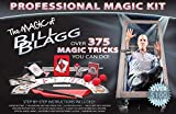 Bill Blagg Professional Magic Kit - Over 375 Amazing Magic Tricks! Perfect for Kids & Adults - Easy to Learn Magic - Ideal for Beginners of All Ages!
