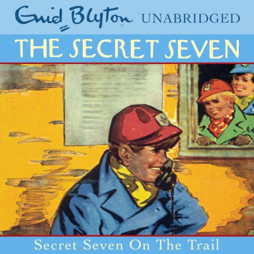 Secret Seven: 4 audiobook cover art