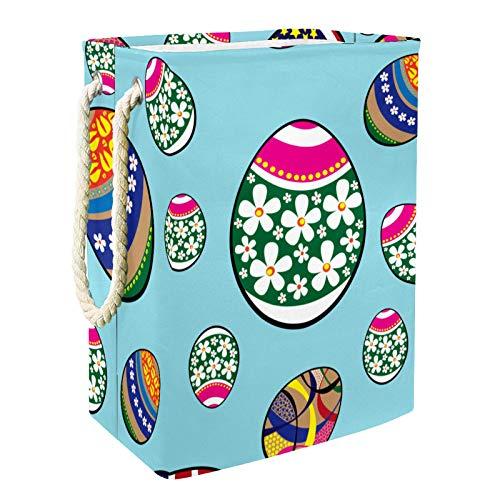 VFSS Cesto para la colada, grande con asas, cesto de lavandería, tela Oxford impermeable, bolsa de almacenamiento de ropa para baño, diseño abstracto