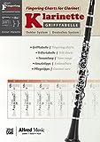 Alfred's Fingering Charts Instrumental Series: Grifftabelle Klarinette Deutsches...