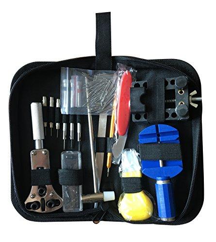 Watch Repair Kit,Tool Kit, Professional Watches Tool Set Spring Bar...