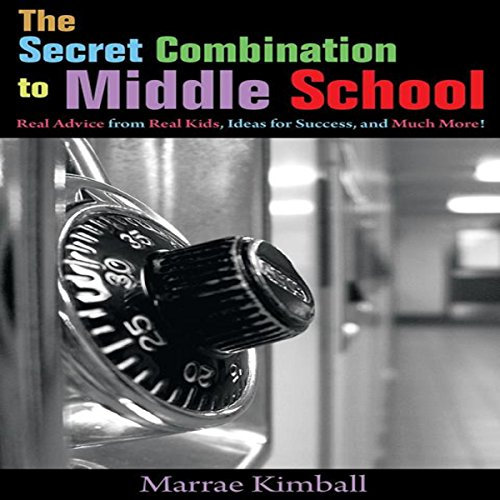 The Secret Combination to Middle School audiobook cover art