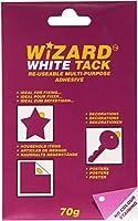 ホワイトタック/ホワイトTac /ホワイトTak再利用可能スティッキー粘着Non衣類1x 70gパック