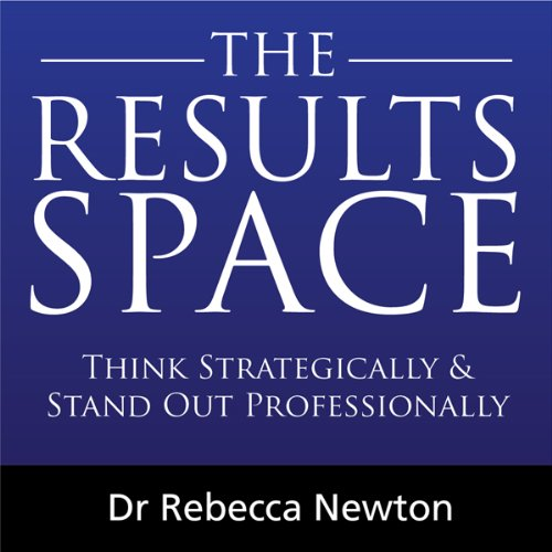 The Results Space audiobook cover art