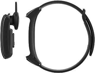 SXXYXH Pulsera Inteligente Auriculares Bluetooth Monitor De Frecuencia Cardíaca Calorías Monitores De Actividad (Tamaño De Pantalla De 0.96 Pulgadas De Color IPS),A