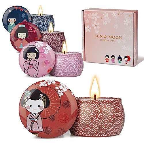 Japanese Geisha Candles Set