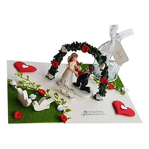 Der-kleine-Dekoladen Geldgeschenk Hochzeit unter dem Torbogen Hochzeitsgeschenk Flitterwochen Geld verschenken