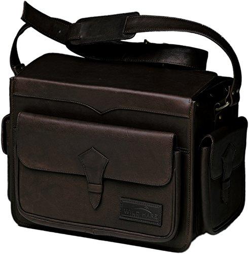 Wild Hare Shooting Gear Leather Range Bag Java