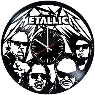 Best metallica record clock Reviews