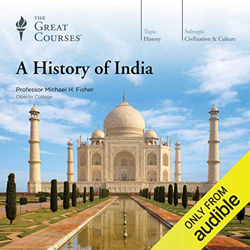 Couverture de A History of India