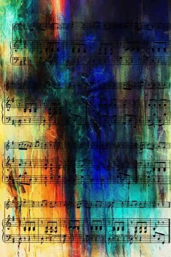 Song Writing Journal: Lined/Ruled Paper And Staff, Manuscript Paper For Notes, Lyrics And Music. For Musicians, Music Lovers, Students, Songwriting. Book Notebook Journal 100 Pages  6x9in