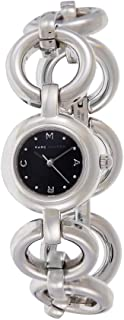 Marc by Marc Jacobs Women's Black Dial Stainless Steel Band Watch - MBM3004
