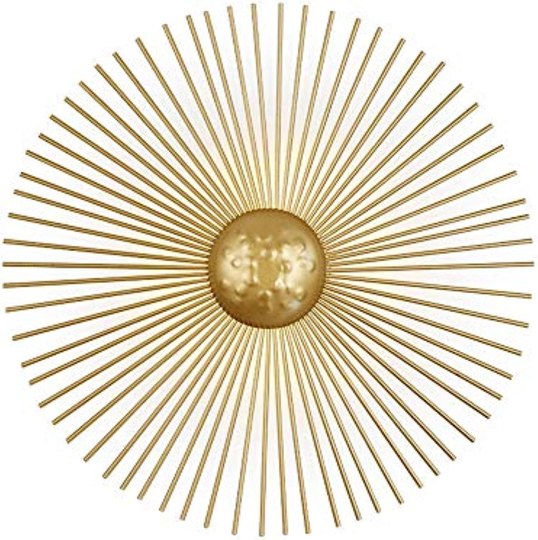 Nordic Wandleuchte Einfache Gold luxurise Wandlampen Kreative Persnlichkeit Beleuchtung Wohnzimmer Badezimmer Eisen Lampe Nacht LED Hotel Gang Dekor Lichter,30cm