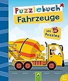 Puzzlebuch Fahrzeuge: Mit 5 Puzzles für Kinder ab 3 Jahren