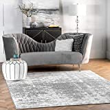 nuLOOM Misty Shades Deedra Area Rug, 7' 6' x 9' 6', Grey