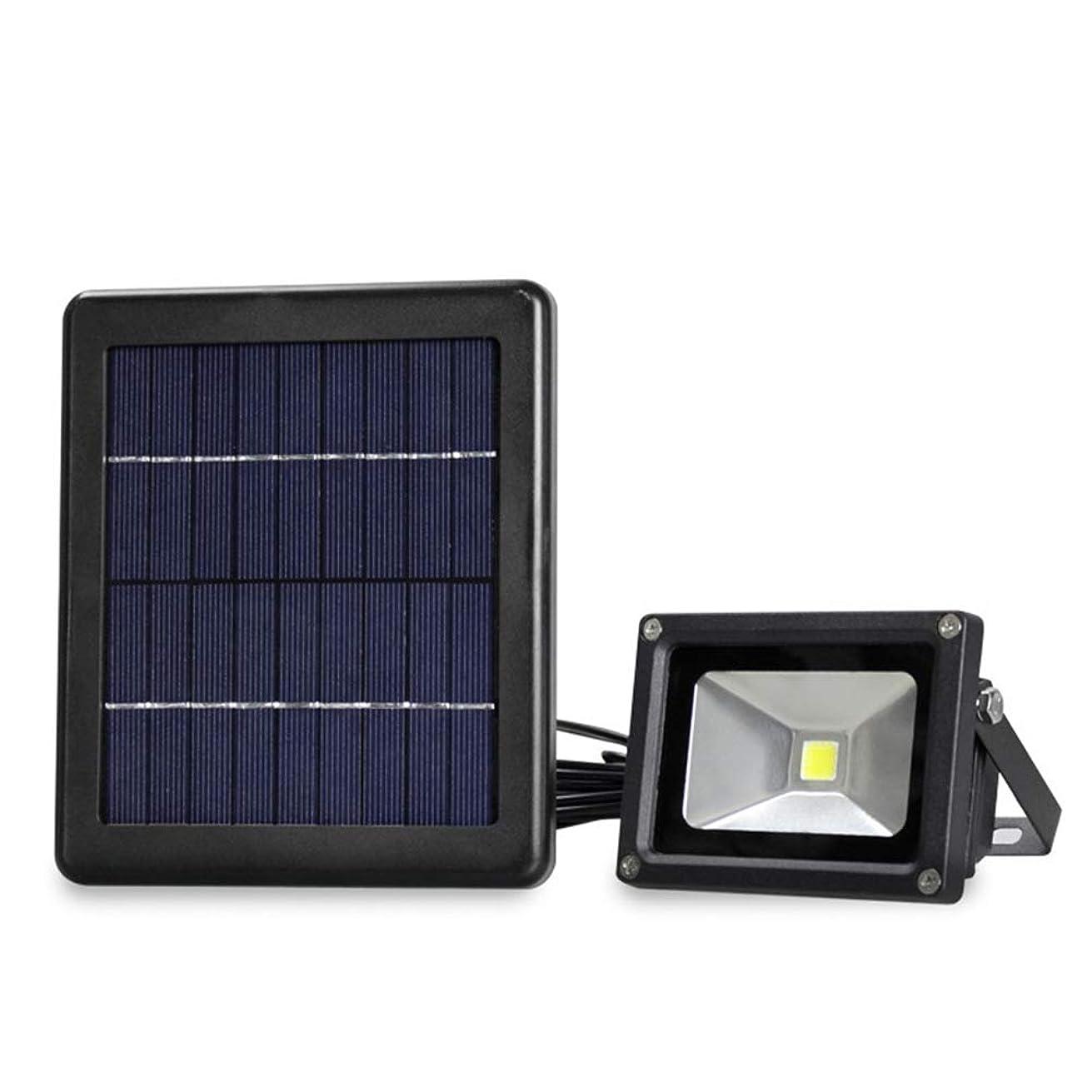 発信植生選挙太陽統合LEDフラッドライト、白熱40W、屋外IP65防水芝生ライト、ガーデンガレージパスウェイ用セキュリティ照明器具に相当