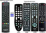New GXFA GXBD GXBM CS-90283-1T Replacement Remote Control Compatible with Sanyo LCD LED HDTV DP32242 DP46142 DP32640 DP32642 DP42142 DP42740 DP42841 DP46841 DP47840 DP50741 DP50842 FVM3982 FVM4212