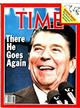 Time Magazine February 6 1984 There He Goes Again Ronald Reagan