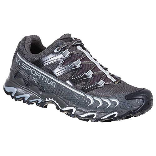 LA SPORTIVA Ultra Raptor Woman GTX, Zapatillas de Trail Running Mujer, Carbon/Cloud, 40.5 EU
