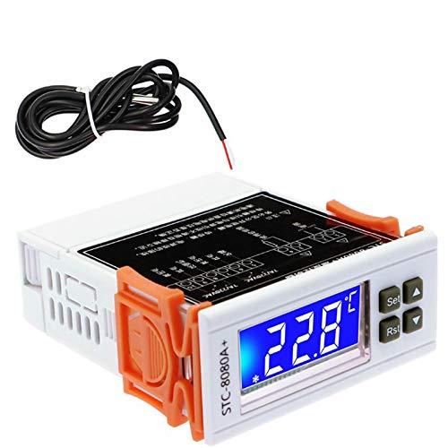 Timagebreze STC-8080A + Controlador de Temperatura Digital...