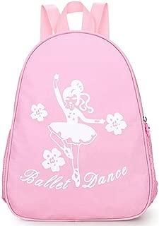 Kids Ballet Gym Backpack Little Girls Dance Shoulder Bag from Zaptex