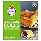 FRYS FAMILY FOODS Vegetariano Rollos De Salchicha Congelados 400g VEGANO (Pack de 1)
