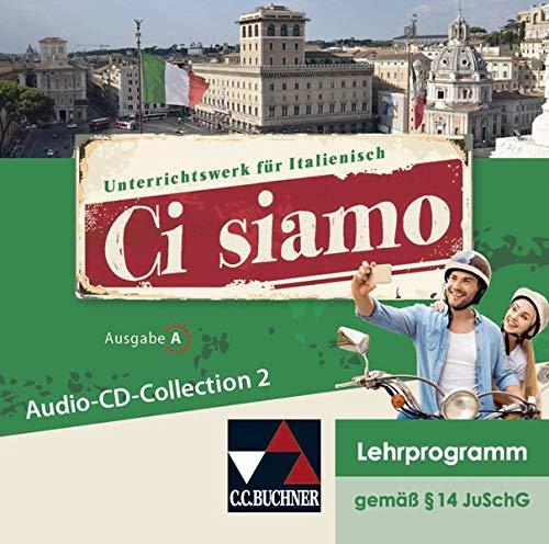 Ci siamo! A / Ci siamo A Audio-CD-Collection 2: Italienisch für Spätbeginner (Ci siamo! A: Italienisch für Spätbeginner)