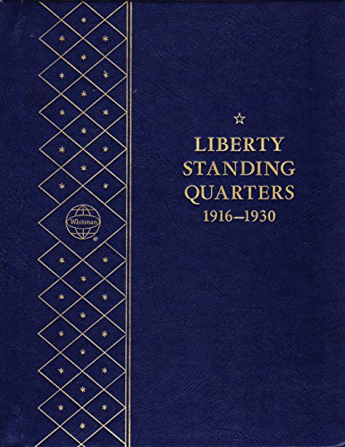1916-1930-LIBERTY-STANDING-QUARTERS-USED-WHITMAN-BOOKSHELF-SERIES-9417-COIN-ALBUM-BINDER-BOARD-BOOK-CARD-COLLECTION-FOLDER-HOLDER-PAGE-PORTFOLIO-PUBLICATION-SET-VOLUME