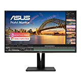 ASUS ProArt PA329C 32'' Professional Monitor, 4K (3840 x 2160), IPS, 98% DCI-P3, 100% Adobe RGB, 100% sRGB, 84% Rec.2020,△E 2, DisplayHDR600, USB Type C with PowerDelivery 60W