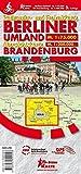 Berliner Umland und Uebersichtskarte Brandenburg: Radwander- und Freizeitkarte -