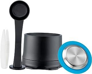 Baoblaze Capsules d'espresso de café Accessoires de machine à café Tasse réutilisable de filtre de capsule de café - 1 jeu