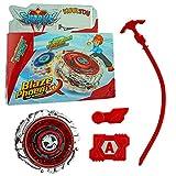 Kuultoy Peonza de combate Beyblade Burst para niños, 1 unidad, regalo y grupos, color rojo